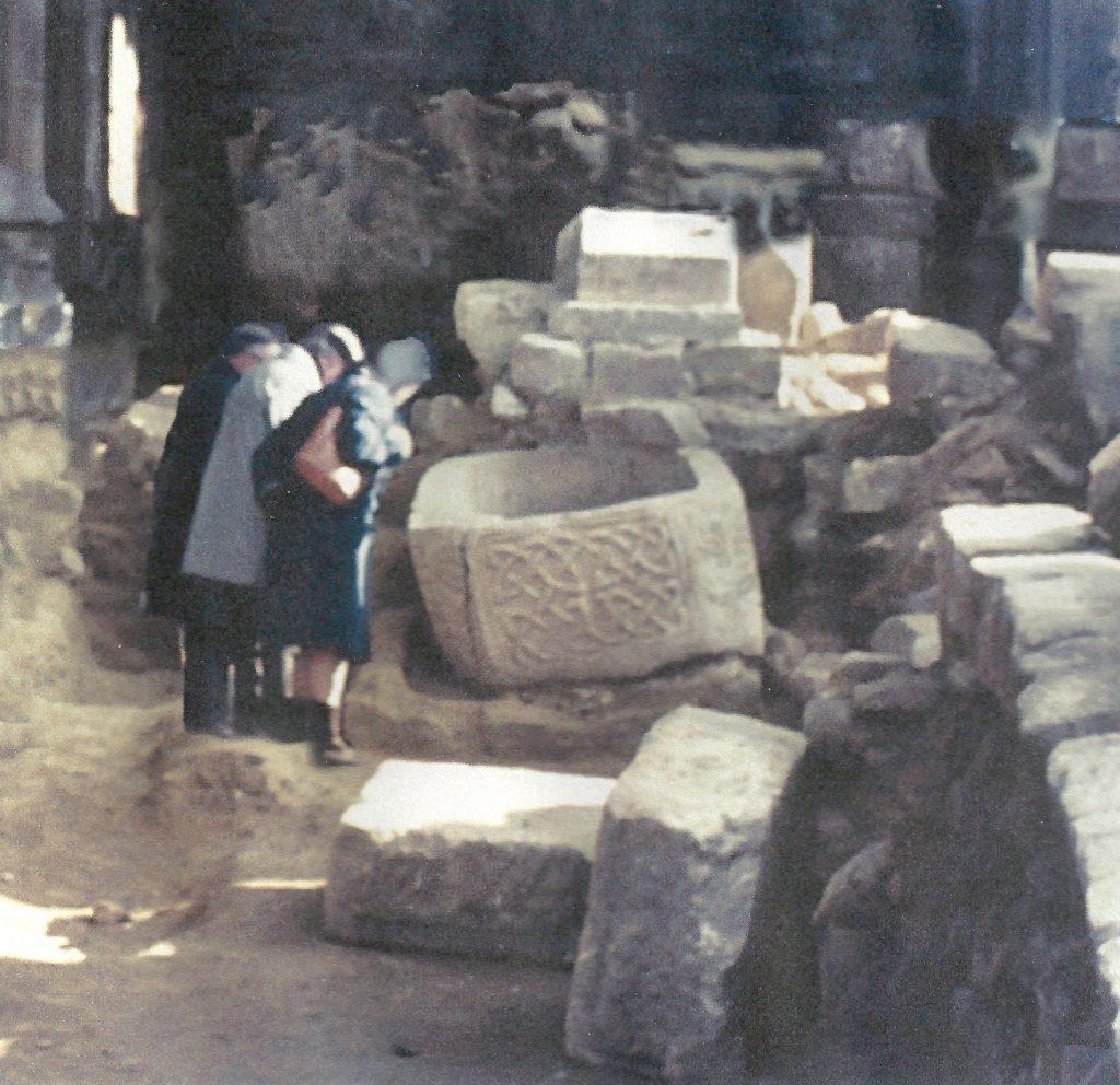 Sarcophagus at St. Alkmunds Duffield