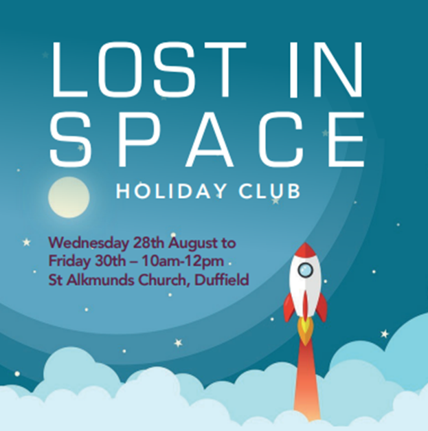 """HOLIDAY CLUB 2019 – """"Lost in Space!"""""""